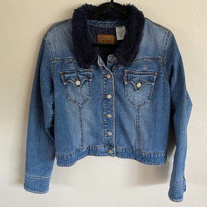 Levi's Quilted Sherpa Denim Jacket